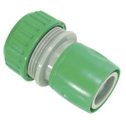 """Conector manguera plástico 3/4"""""""