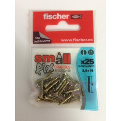 Tornillo pozi small fix Fischer