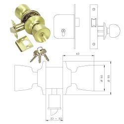 Pomo Tesa 3520-LM50 ferrebric