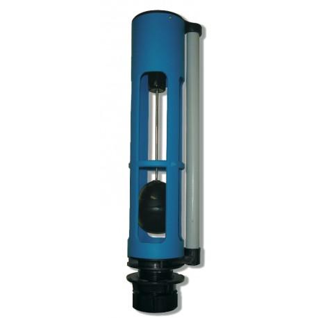 Válvula descarga eléctrica para cisternas