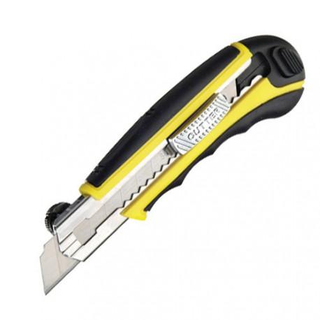 Cutter 18mm con 5 hojas recargables ferrebric