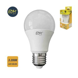 Bombilla Standard Led SMD E27 10W 3200K Luz Cálida EDM