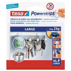 Tira autoadhesiva de doble cara Powerstrips Tesa