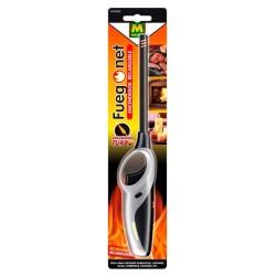 Encendedor llama turbo recargable FUEGO NET