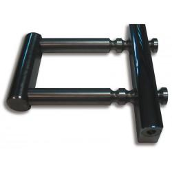 Cerradura persiana ballesta regulable acero inox 75-120mm Sag