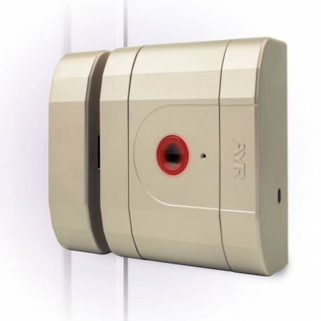 Cerradura inteligente de alta seguridad int-LOCK latón mate AYR