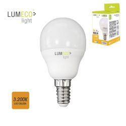 Bombilla led 5W E-14 luz cálida Lumeco
