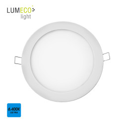 Downlight empotrable extraplano Led 6400K 20W