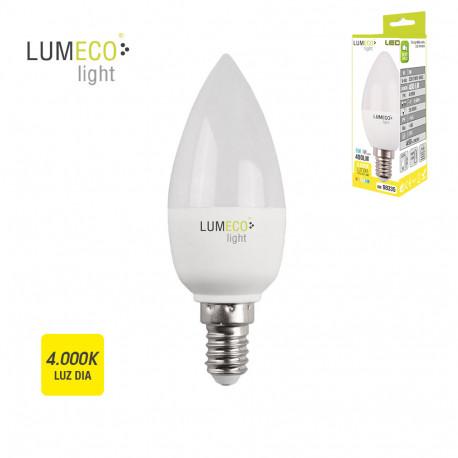 Bombilla LED vela 5W E14 4000K Lumeco ferrebric