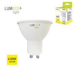 Bombilla dicroica led 5W GU10 luz neutra Lumeco ferrebric