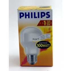 Bombilla softone Philips 100W