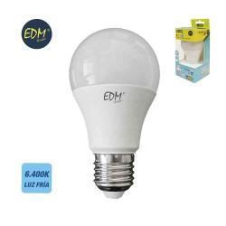 Bombilla Standard Led SMD E27 10W 6400K Luz Fría EDM