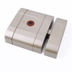Cerradura inteligente de alta seguridad int-LOCK niquel mate AYR
