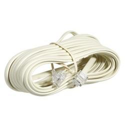 Cable Teléfono Marfil